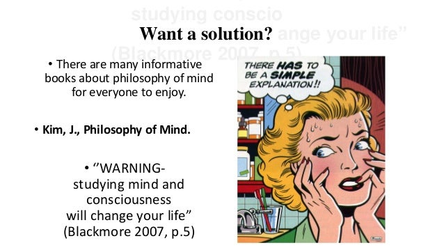 the mind brain problem concerning dualism and materialism Dualism and materialism mind is the brain is often used instead of mind, the problem in philosophy is that it is unclear just.