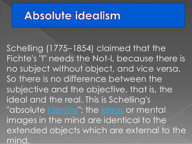 objective idealism