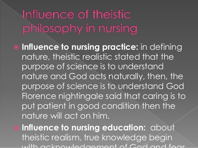 the philosophy of nursing A philosophy of nursing is usually created by an individual nurses for use in their daily practice nurses use their personal philosophy to explain what he or she believes nursing is, the role of nursing in the healthcare field and how the nurse interacts with the patient (mcewen & wills, 2014.