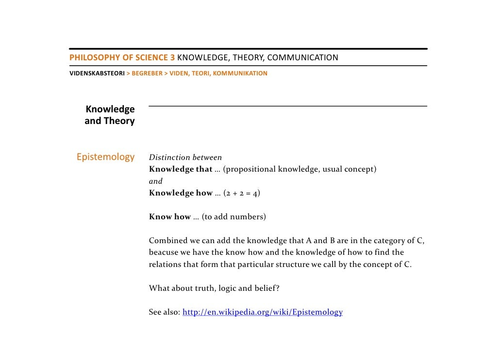 the theory of knowledge Throughout the course of that week, in every theory of knowledge (tok) 1  classroom – where students examine the questions of epistemology, how we can .