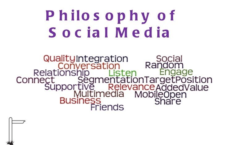 Philosophy of Social Media