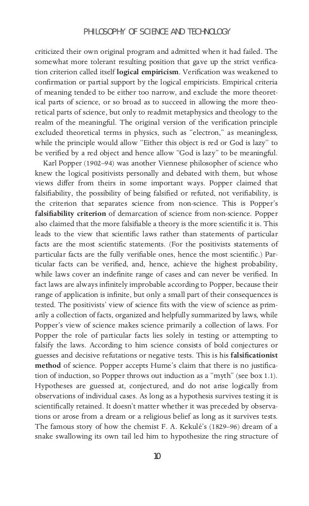 demarcation in philosophy of science The demarcation problem in the philosophy of science is about how to distinguish between science and nonscience, and more specifically, between science and pseudoscience (a theory or method doubtfully or mistakenly held to be scientific.