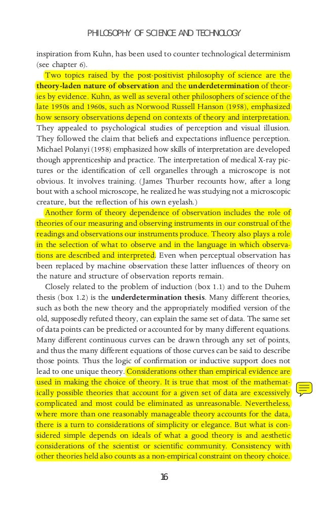 a report on the correspondence rule positivism and the quine duhem theory