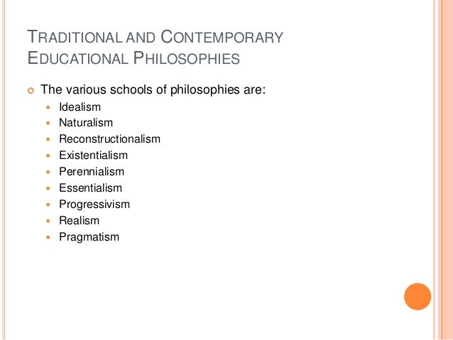 difference between traditional and modern education pdf