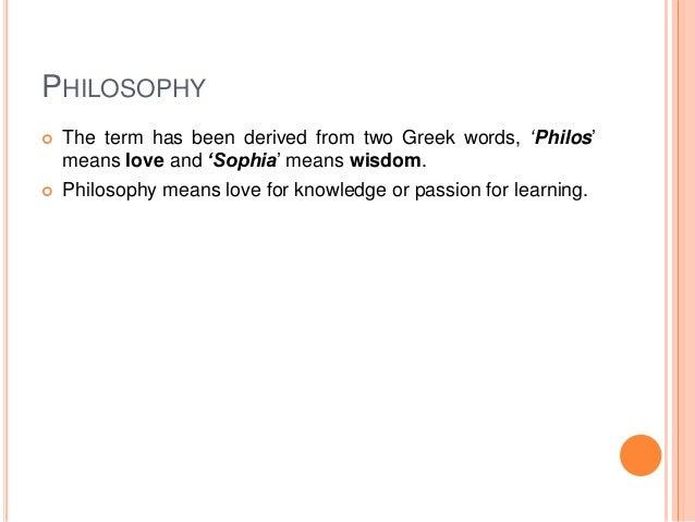 Philosophy ppt  Slide 3