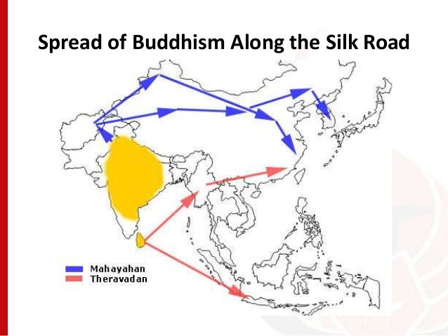 Spread of Buddhism Map and Timeline