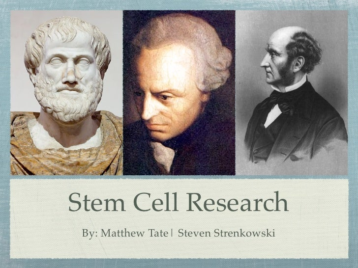 Stem Cell Research  By: Matthew Tate| Steven Strenkowski