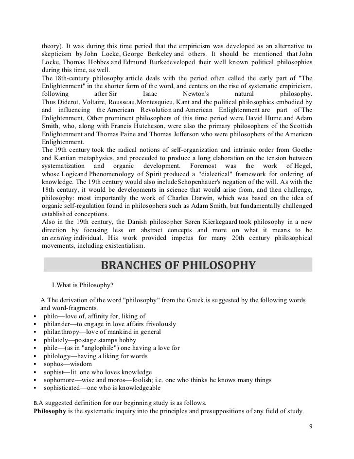 philosophy report What does one do in a philosophy paper a philosophy paper consists of the reasoned defense of some claim your paper must offer an argument it can't consist in the mere report of your opinions, nor in a mere report of the opinions of the philosophers we discuss.