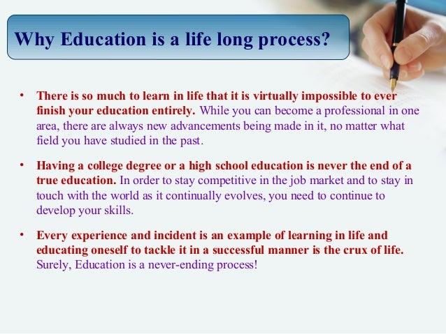 essay on education problem
