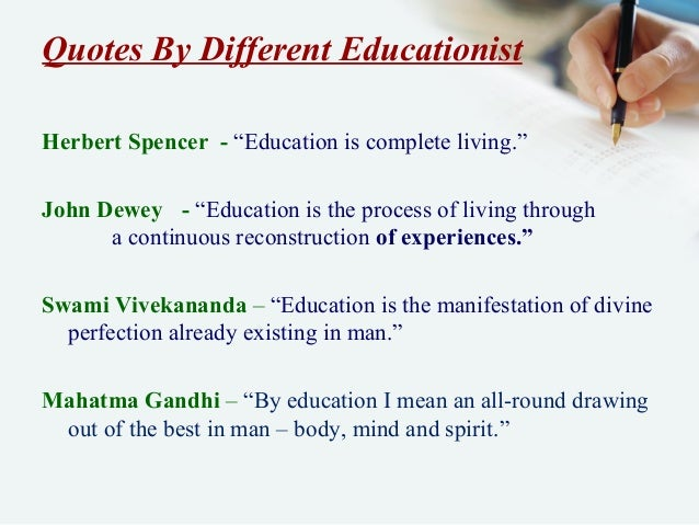 do you agree that education is a lifelong process