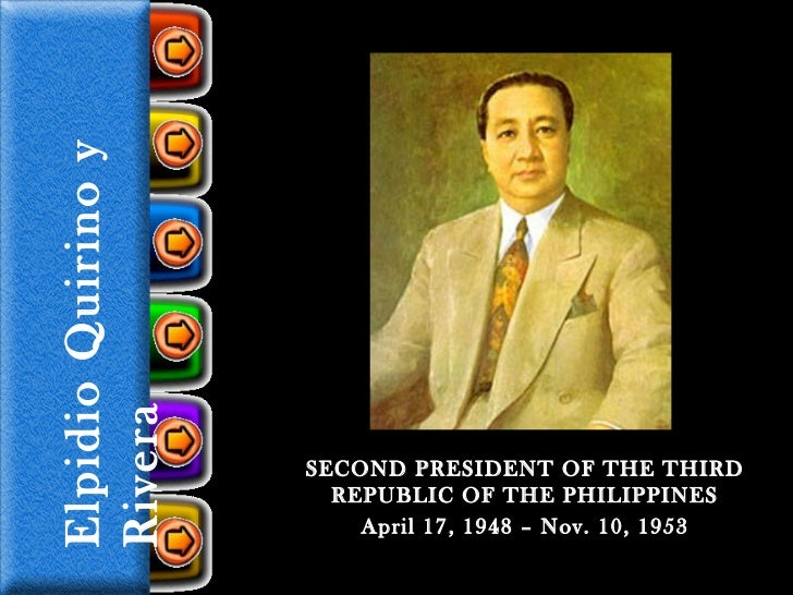 failures of elpidio quirino Elpidio quirino is one of the least known among philippine presidents as time moves on he succeeded to the presidency unexpectedly when manuel a roxas , the first president, died on the third year of his four-year term quirino's presidency was eventful and positive for the nation he won a close.