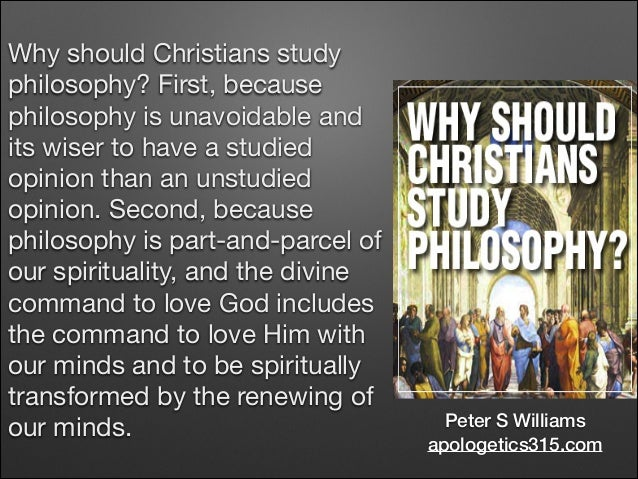703 Introduction to Christian Philosophy (ICP): Session 2