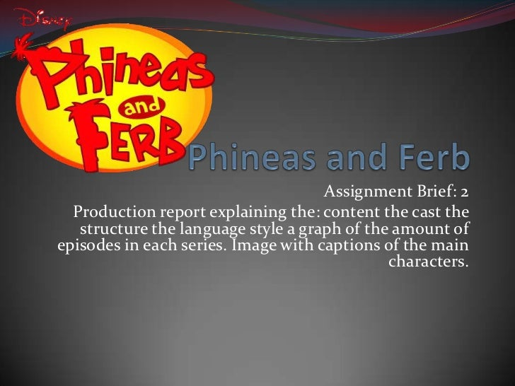 Assignment Brief: 2  Production report explaining the: content the cast the   structure the language style a graph of the ...