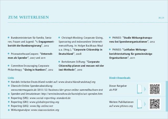 """zum weiterlesen  Bundesministerium für Familie, Senioren, Frauen und Jugend: """"1. Engagementbericht der Bundesregierung"""", 2..."""