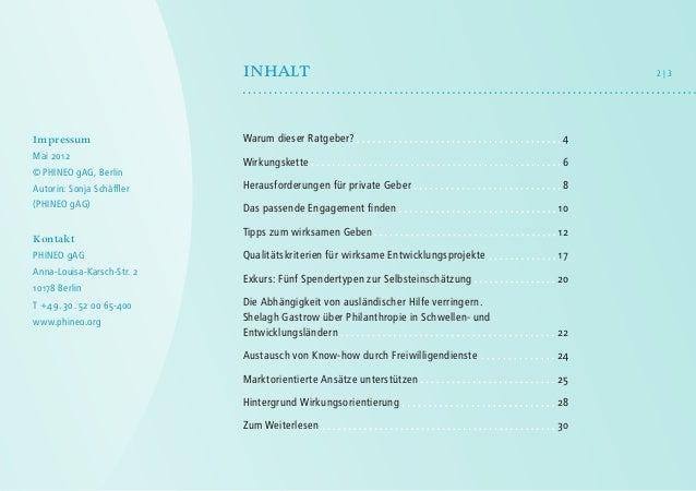 Ratgeber Entwicklungszusammenarbeit - Weltweit mehr erreichen! Slide 3