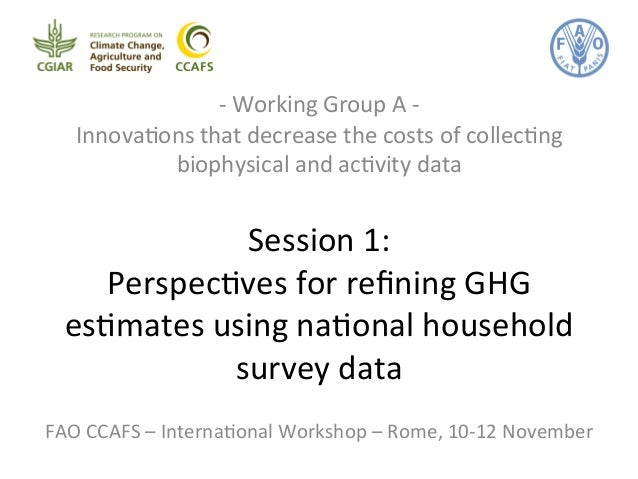 -­‐  Working  Group  A  -­‐  Innova&ons  that  decrease  the  costs  of  collec&ng  biophysical  and  ac&vity  data  Sessi...