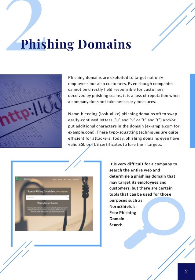 Are There Any Domains Impersonating Your Company For Phishing?
