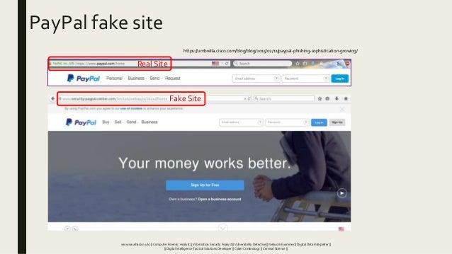PayPal fake site Real Site Fake Site https://umbrella.cisco.com/blog/blog/2015/02/11/paypal-phishing-sophistication-growin...