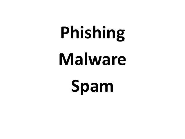 PhishingMalwareSpam
