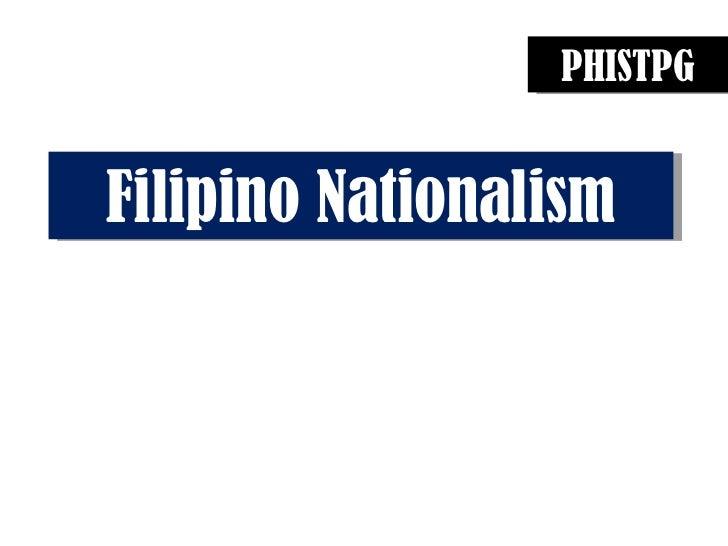 PHISTPG Filipino Nationalism