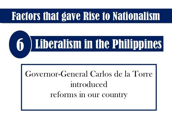 What were the reforms of governor general carlos maria de la torre
