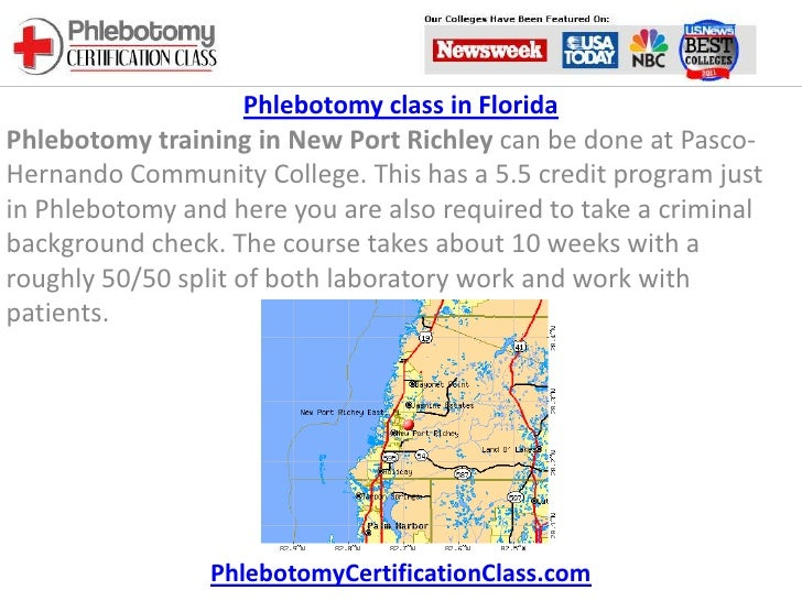 Phlebotomy Class In Florida