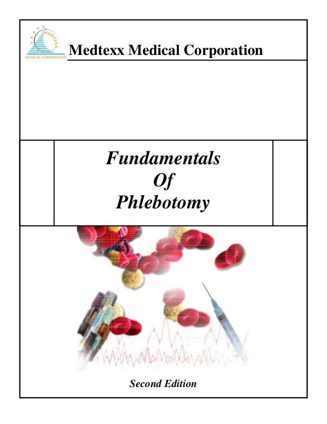 Medtexx Medical Corporation Fundamentals Of Phlebotomy Second Edition