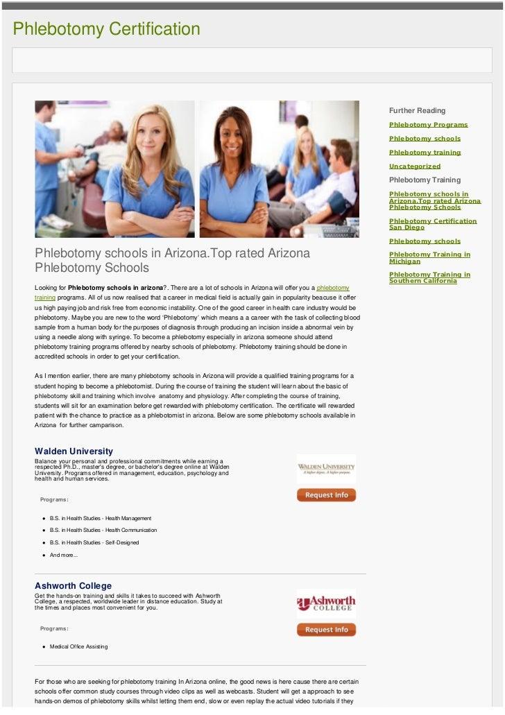Phlebotomy Schools Arizona