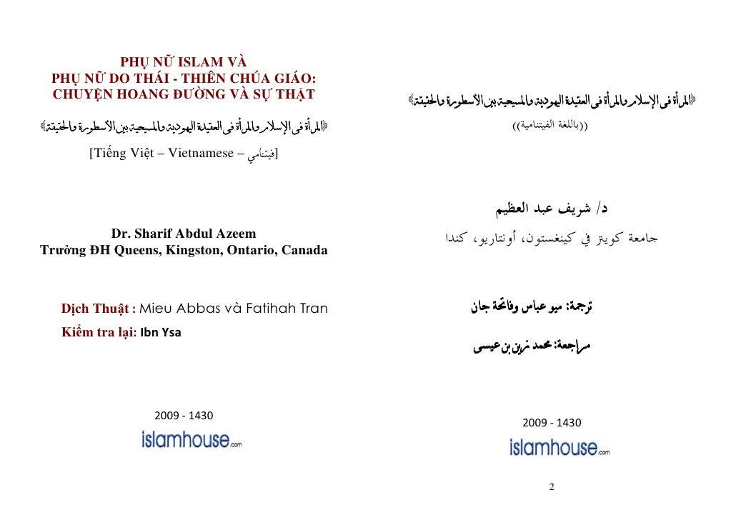 PH N ISLAM VÀ  PH N DO THÁI - THIÊN CHÚA GIÁO:  CHUY N HOANG Ư NG VÀ S TH T                       ^   ]   ^[ ^            ...