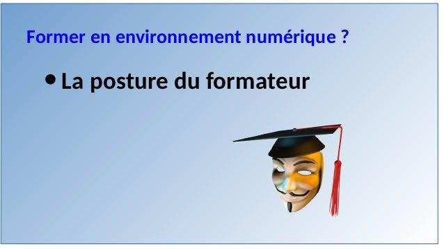 Apprendre et former en environnement numérique Slide 3