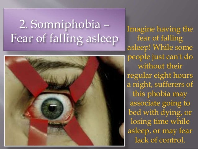 Phobia of falling