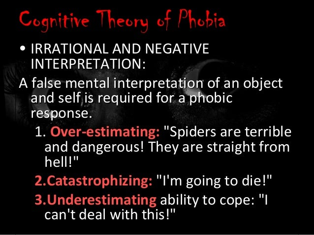 preparedness theory of phobia Preparedness and phobias preparedness and phobias on jul 1, 1971 martin ep seligman published: phobias and preparednesspreparedness theory of phobias preparedness.