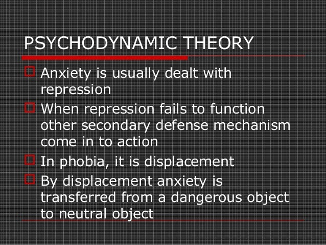 COGNITIVE THEORY  Anxiety is a product of faulty cognition  Some people engage in negative and irrational thinking that ...