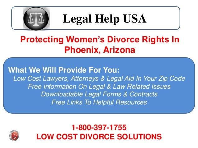 Women In Phoenix Now Receive Free Legal Help With Divorce
