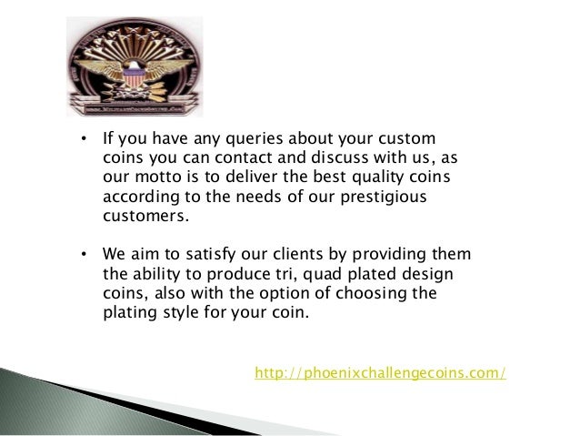 Phoenix Challenge Coins Symbols Of Excellence
