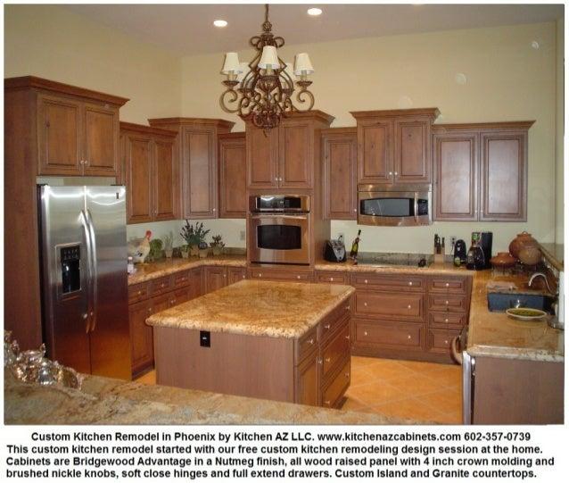 Kitchen Cabinets Arizona: Phoenix Kitchen Remodel Cabinets Granite Countertops