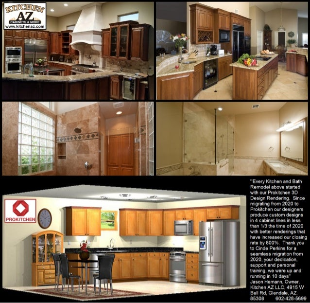 Kitchen Cabinets In Phoenix Prokitchen Design Software Reviews