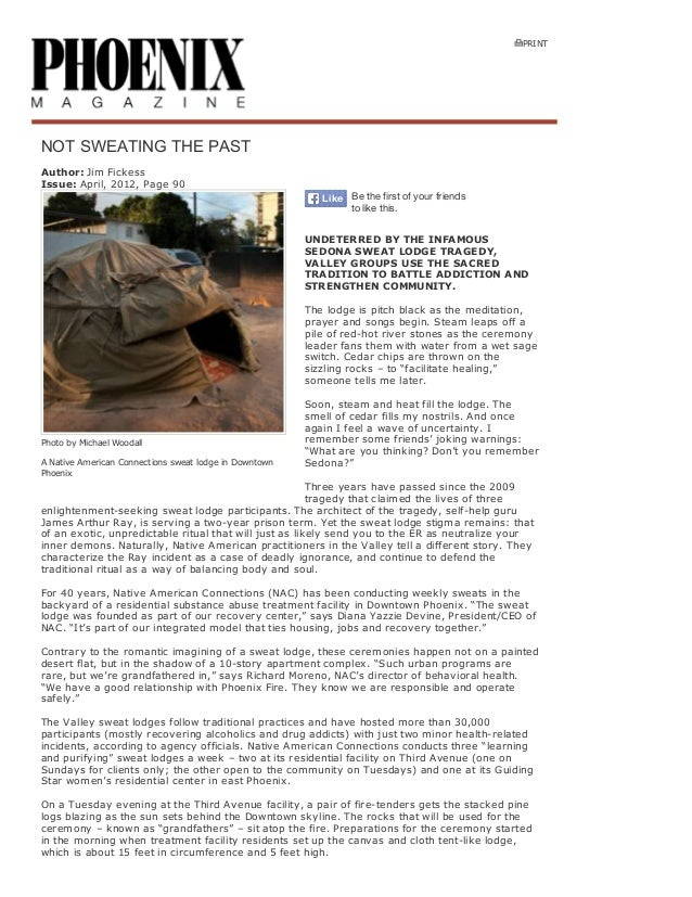 PRINT  NOTSWEATINGTHEPAST Author:JimFickess Issue:April,2012,Page90 Like Be the first of your friends to like th...