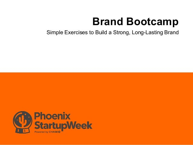Brand Bootcamp Simple Exercises to Build a Strong, Long-Lasting Brand