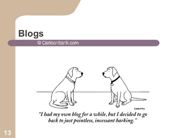 Blogs  13