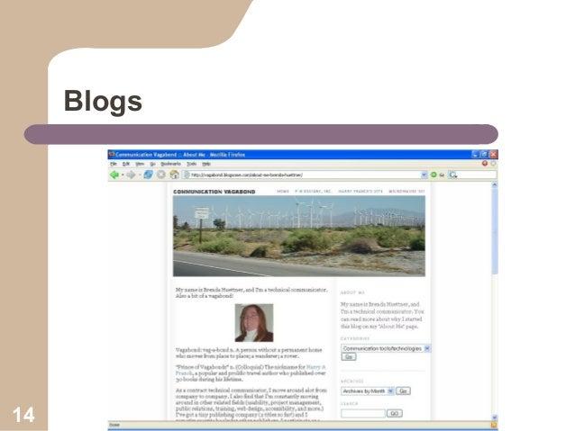 Blogs  14
