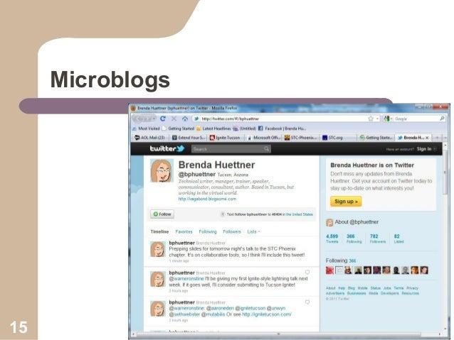 Microblogs  15