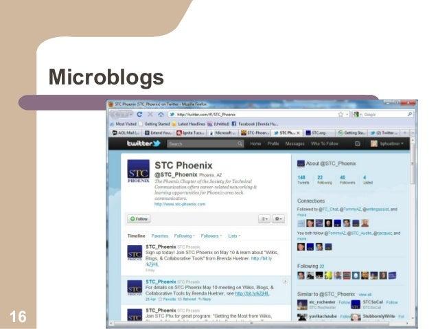 Microblogs  16