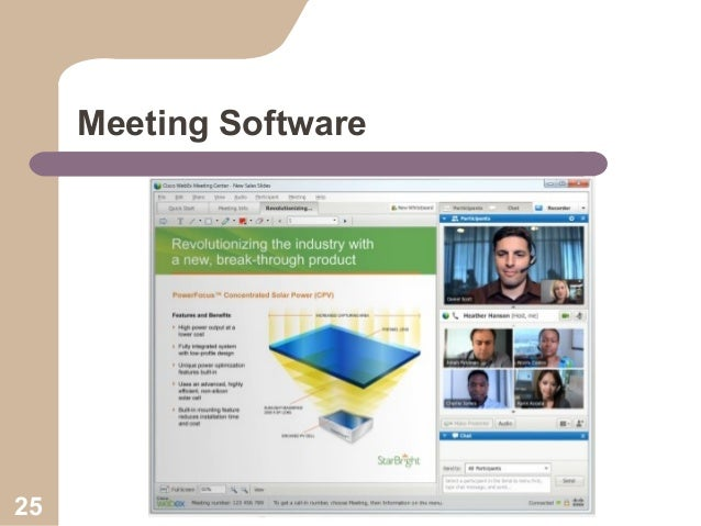Meeting Software  25