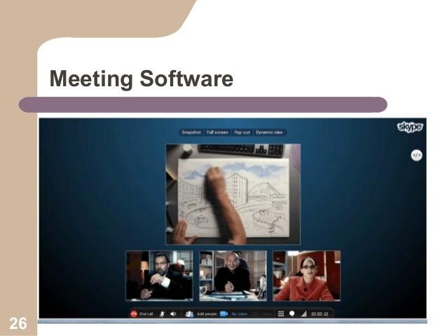 Meeting Software  26