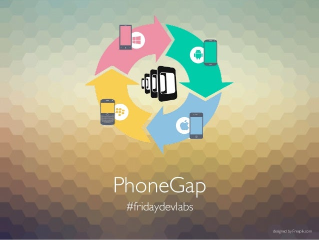 PhoneGap #fridaydevlabs designed by Freepik.com