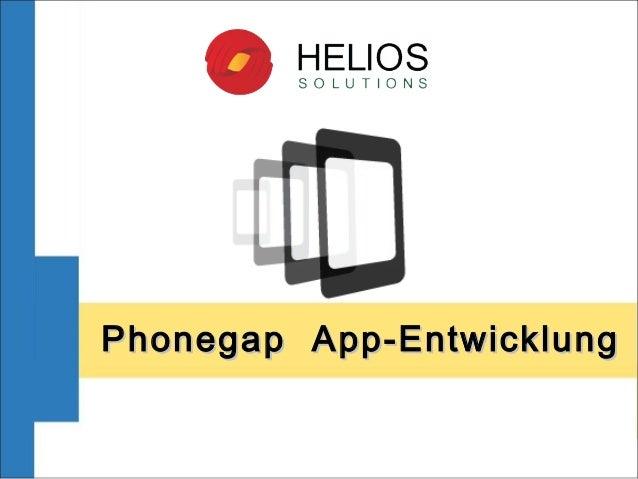 PhonegapApp-EntwicklungPhonegapApp-Entwicklung