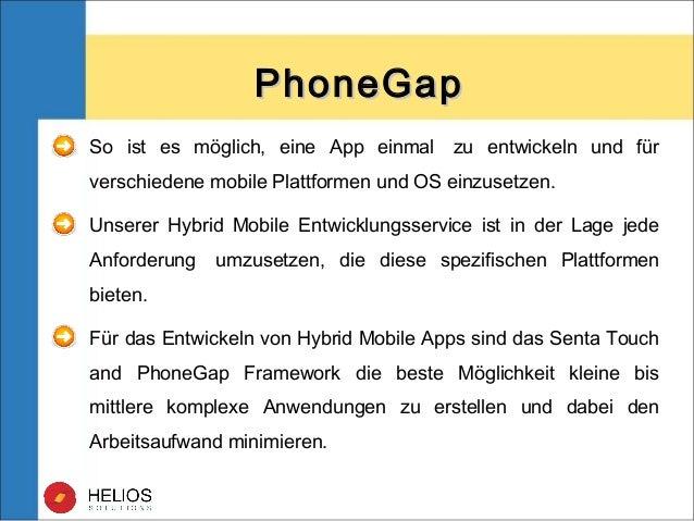 So ist es möglich, eine App einmal zu entwickeln und für verschiedene mobile Plattformen und OS einzusetzen. Unserer Hybr...