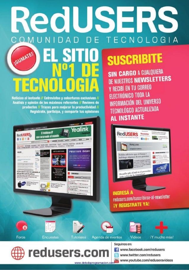 Juegos, Revistas, Cursos, Software, Sistemas Operativos, Antivirus y  más … Gratis para el Conocimiento...!  www.detodopro...