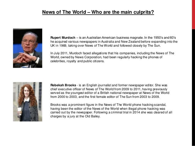 Q&A: News of the World phone-hacking scandal - BBC News
